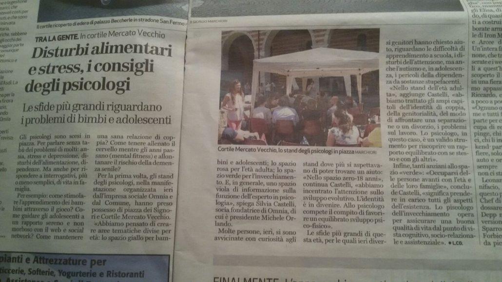psicologi in piazza Verona articolo Psicologo Verona