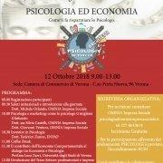 PSICOLOG VERONA PSICOLOGI IN PIAZZA VERONA 2018 PSICOLOGIA ED ECONOMIA